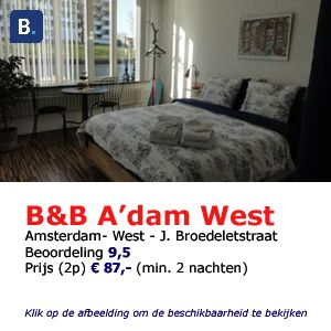 bed and breakfast amsterdam west