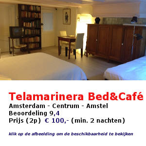 telemarinera bed en cafe