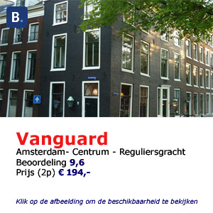 bed and breakfast amsterdam vanguard